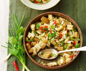 Salade d'aubergines à la vietnamienne