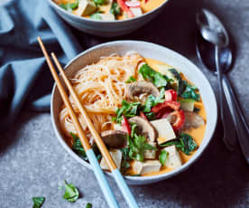 Minestrone goes Asia