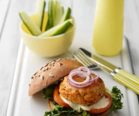 Chorizo and Chicken Burgers