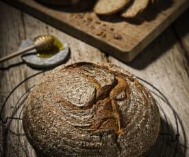 Pão de mistura simples