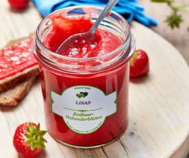 Erdbeer-Holunderblüten-Konfitüre