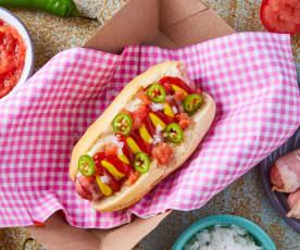 Hot dog del carrito