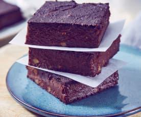 Blumenkohl-Brownies mit Walnüssen