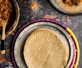 Pan etíope (Injera)