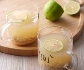 蜂蜜檸檬薏米水