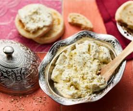 Beurre beldi au zaatar