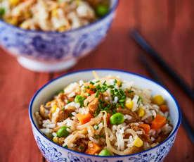Nasi goreng (arroz frito)