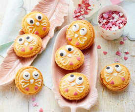 Küken-Macarons
