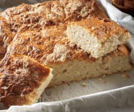 Pan nevado para el desayuno