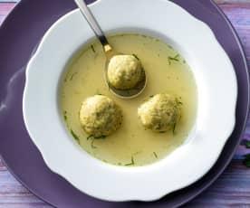 Markklößchen (Suppeneinlage)