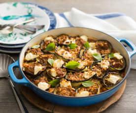 Eggplant rotolo