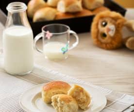 Panecillos de leche y mantequilla (Butter rolls)