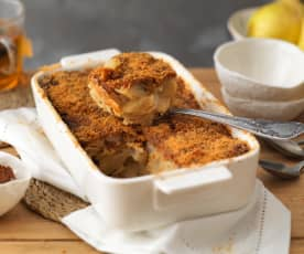 Clafoutis poire-speculoos