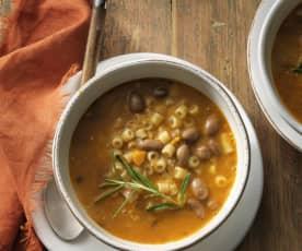 Italian Bean Soup - Pasta e fagioli