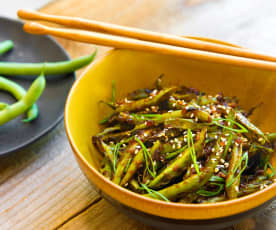 Chinese Blistered Green Beans (Hestan Cue™)