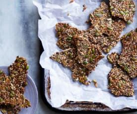 Sweet seeded crackers