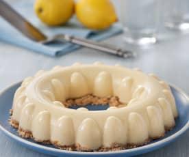 Pastel de limón con galletas
