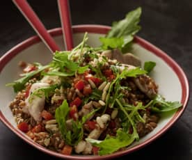 Chicken and Spelt Salad
