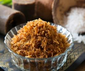 Inti kelapa (sweet coconut filling)