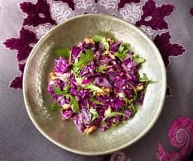 Rotkohlsalat - Kırmızı Lahana Salatası