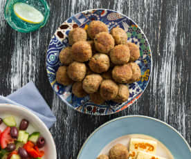 Greek Lamb Meatballs (Keftethes)