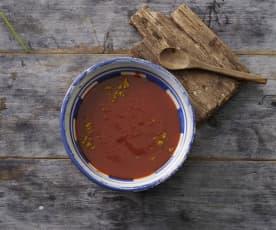Erdbeer-Curry-Ketchup
