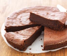 Gâteau au chocolat sans œuf