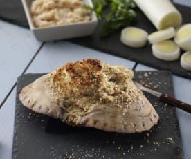Buey de mar relleno a la provenzal