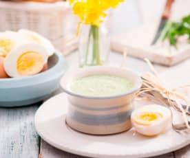 Zielony sos wielkanocny