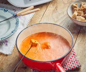 Fondue savoyarde à la tomate