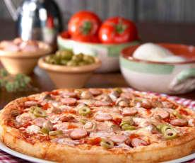 """Pizza """"come in pizzeria"""" (senza glutine)"""