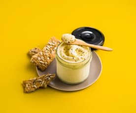 Glace à la moutarde