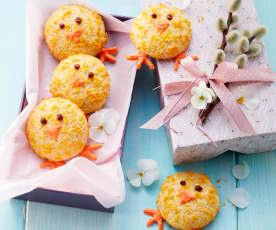 Oster-Küken-Cookies