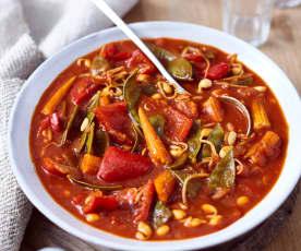 Asia-Gemüse süß-sauer