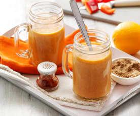 抗氧化柳橙飲