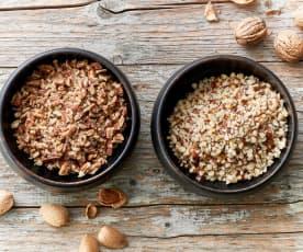 Nueces picadas gruesas (200 g)