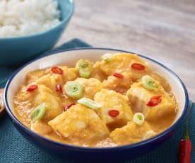 Curry vietnamita de pescado