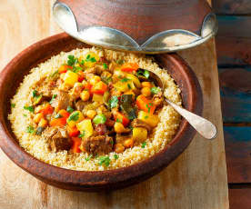 Cous cous marocchino