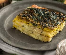 Lasagne pecorino e cavolo nero
