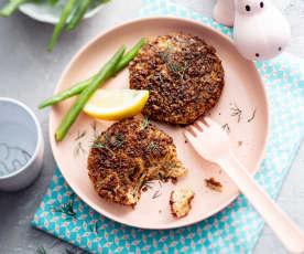 Baby-friendly Salmon Fishcakes