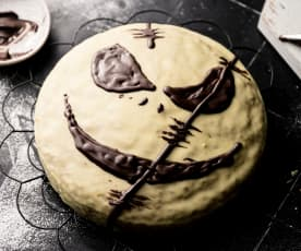 Gâteau au potiron d'Halloween