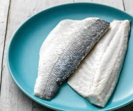 Steamed Fish Fillets
