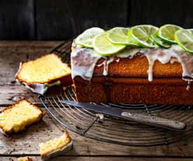 Cake aux deux citrons