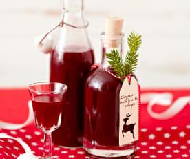 Liqueur aux fruits rouges