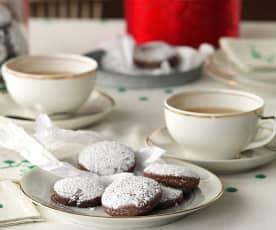 Polvorones de cacao y almendra