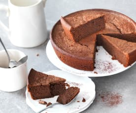 Gâteau pomme de terre-chocolat