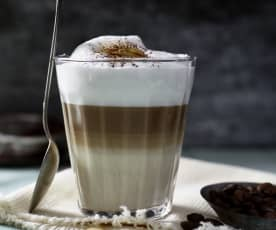 Zimowe latte macchiato