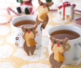 麋鹿杯緣子餅乾