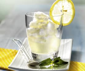 Σορμπέ λεμόνι