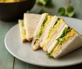 Coronation Chicken Sandwich Filling